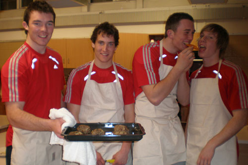Peter O'Mahony, David O'Driscoll, Brian Hayes and Danny Barnes happy with the outcome