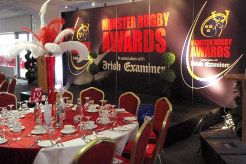 Munster Rugby Awards in association with the Irish Examiner