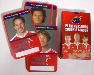 Munster Rugby Playing Cards