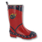 Red Wellington Boots Kids