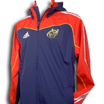 Munster Rugby hooded rain jacket