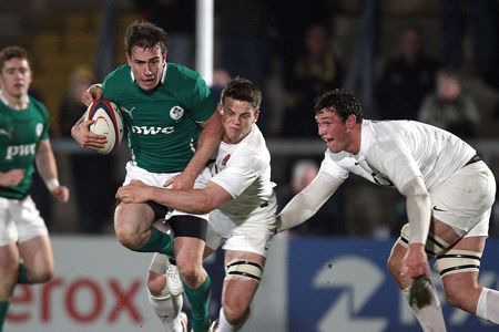 JJ Hanrahan In Action Against England