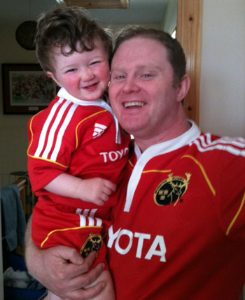 Liam and Pat Byrne from Waterford