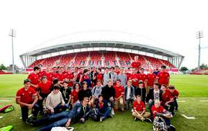 Cork English College Students Tour Thomond Park