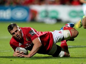 PRO12 Round 1: CJ Stander captains the side against Treviso at Irish Independent Park and scores Munster's first competitive try of the season. In the absence of Peter O'Mahony, Stander went on to captain Munster on 18 occasions in 2015/16.