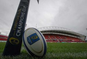 The scene is set at Thomond Park for its first Champions Cup game of the season.