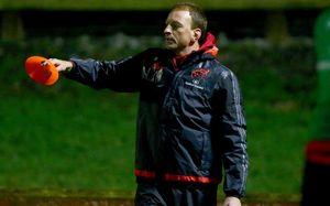 Munster A Head Coach Mick O'Driscoll.