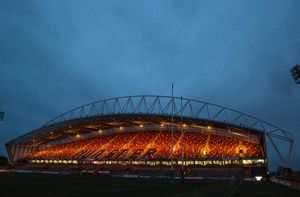 Thomond Park looking well and ready to host European action on what turned out to be a dry but cold night in Limerick.