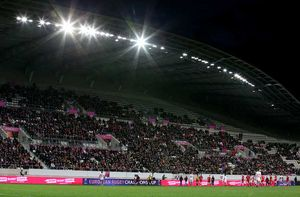 The Stade Jean Bouin played host to Saturday's encounter in Paris.