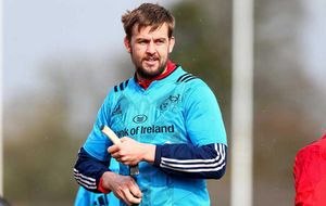 Last weekend saw Munster second row Dave Foley head to Twickenham as a travelling extra with Ireland before rejoining the Munster squad for Sunday's PRO12 clash in Treviso.