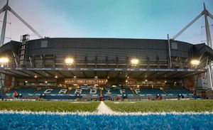The Cardiff Arms Park played host to Friday night's fixture.