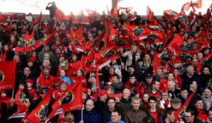 A packed Irish Independent Park were in full voice on Friday night
