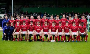 The Munster U18 Clubs team ahead of the decider against Connacht.