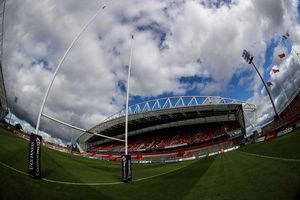 Thomond Park ready for action.