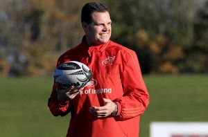 Director of Rugby Rassie Erasmus.