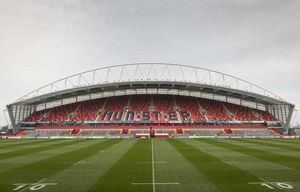 The stage is set - a quiet Thomond Park ready for a sell-out crowd