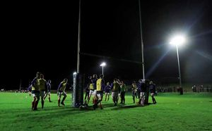 Munster A travelled to Bandon RFC to play the game under Friday Night Lights.