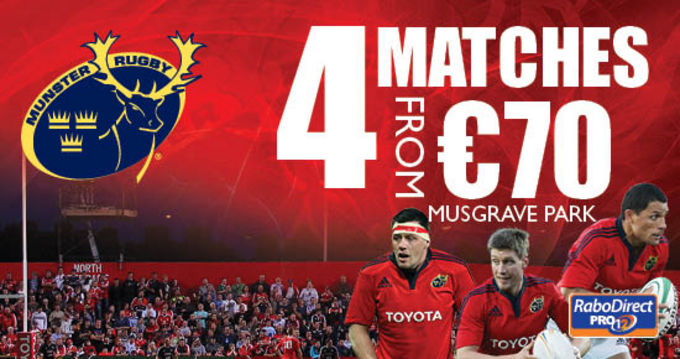 Musgrave Park to host Scarlets, Cardiff Blues, Edinburgh and Connacht