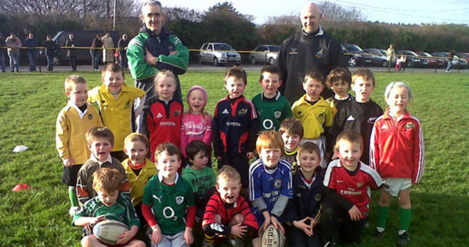Abbeyfeale mini players pictured with club coaches