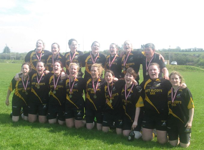 The Abbeyfeale squad who claimed the Munster Women's Pool B Development League