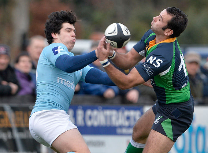 Munster Academy player Alex Wootton in action for Garryowen