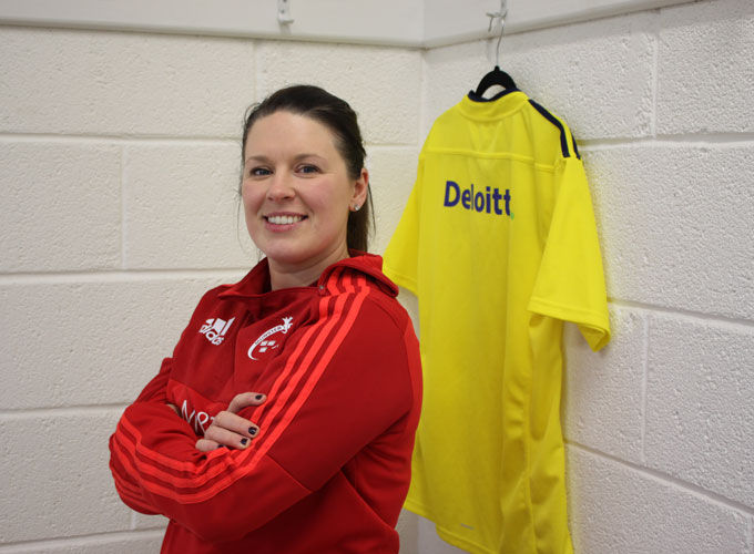 Amanda Greensmith, Munster Women's Community Rugby Officer