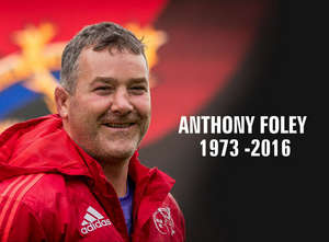 Anthony Foley To Be Remembered At Munster V Glasgow