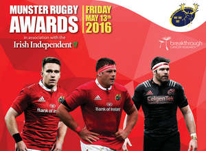 Nominations In For Munster Rugby Awards