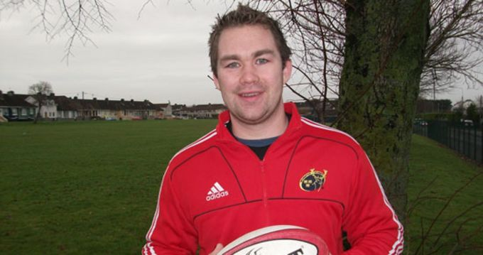 Pictured is CIT Rugby Officer Brendan O'Connor