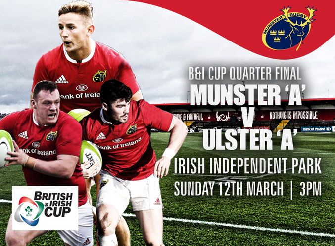 Make Home Advantage Count For Munster A