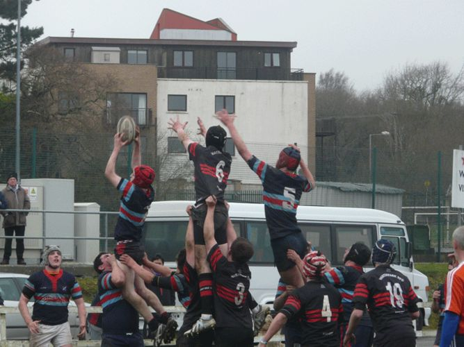 Bantry Bay RFC in action