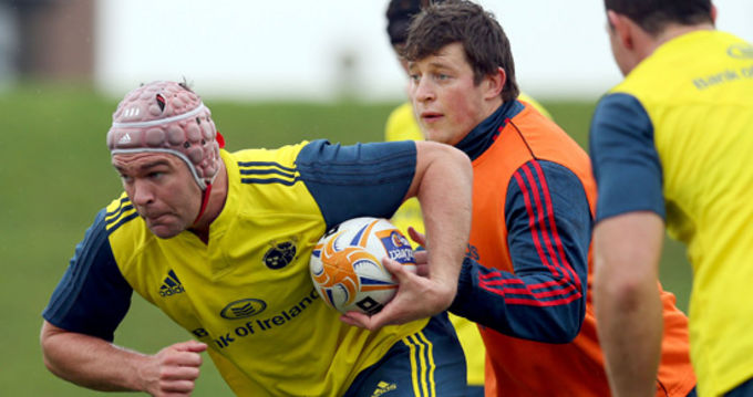 Billy Holland will captain the Munster A side on Friday night