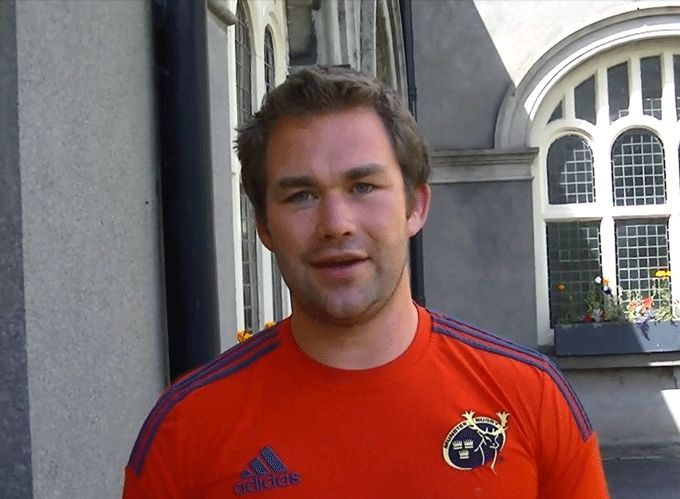 Brendan O'Connor, Munster U19 Forwards Coach and Talent Camp Event Controller at Rockwell College.