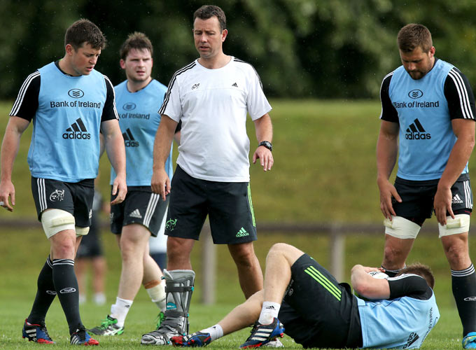 Munster Assistant Coach Brian Walsh