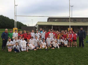 Rugby Blitz Day At Bruff RFC