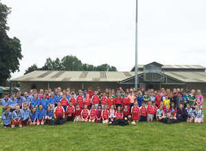 Primary School Blitz At Bruff RFC