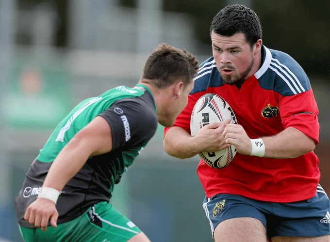 Munster's Rory Burke will start in the front row for Ireland U20s tomorrow