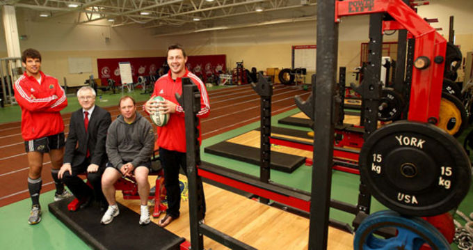 Donncha O'Callaghan, Tony McGahan and James Coughlan are joined by Dr. Barry O'Connor in the CIT gym today