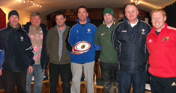 Crosshaven club coaches pictured with Keith Murphy, Coach Development Officer