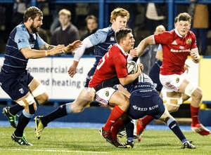 Munster Fall Short In Cardiff