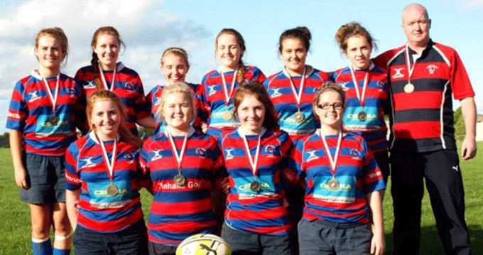Carrick-on-Suir 18 Girls Sevens Squad