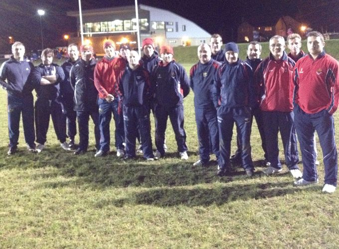 Participants at the Rugby Faculty Workshop in Cashel RFC