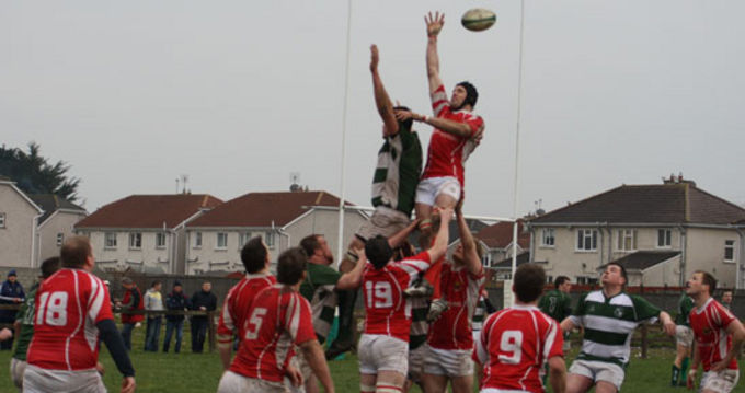 Cashel RFC in Action