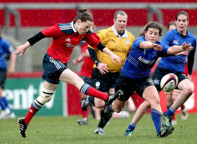 Munster's Claire Keohane selected for the Ireland Sevens Squad