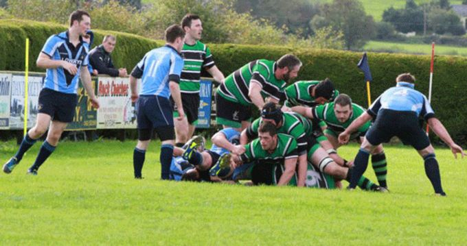 Clonmel in action against Kilfeacle