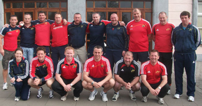 Munster Rugby's Technical Rugby Staff