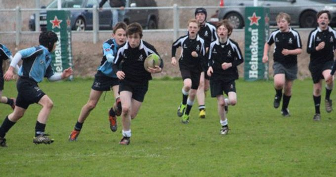 Cobh Pirates in action at last season's U13 League Final