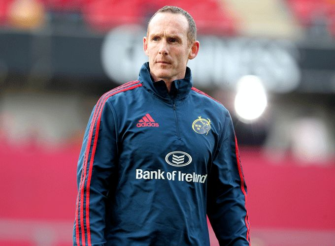 Munster Assistant Coach Ian Costello