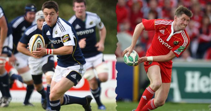 Double Take - Declan Cusack and Ronan O'Gara