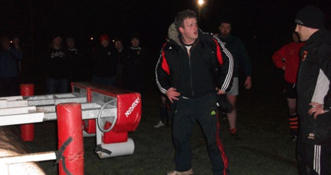 Darragh Hurley pictured at Ballincollig RFC